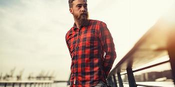 Kolorowa koszula w kratę